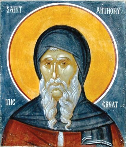 Święty Antoni i św. Paweł z Teb