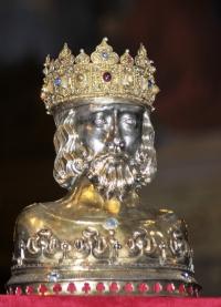Relikwiarz św. Zygmunta w Płocku