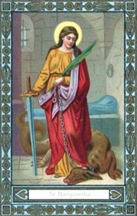 Święta Małgorzata z Antiochii Pizydyjskiej