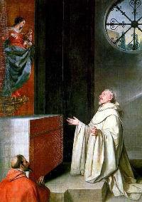 Święty Bernard z Clairvaux - gorliwy czciciel Maryi