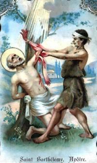 Święty Bartłomiej odzierany ze skóry