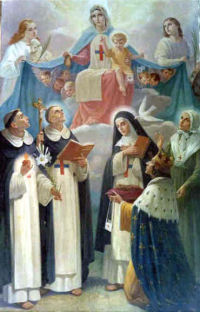 Święty Ludwik IX i zakon trynitarzy