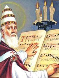 Święty Grzegorz Wielki - reformator śpiewu kościelnego