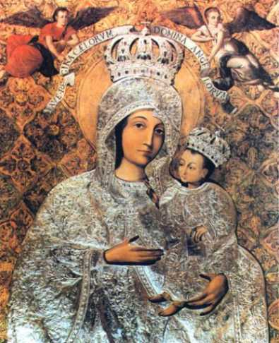 Wizerunek Maryi z Sanktuarium w Gietrzwałdzie
