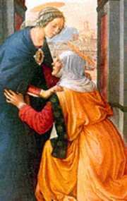 Święta Elżbieta z Maryją