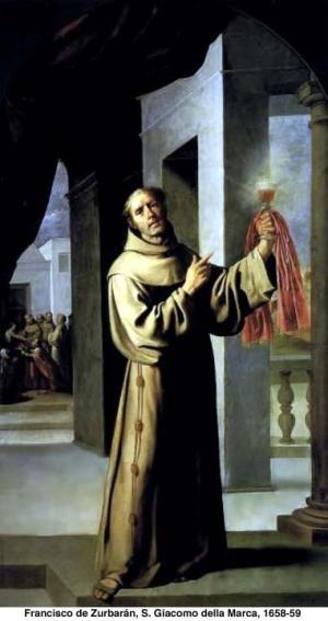 Święty Jakub z Marchii