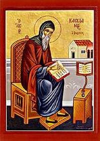 Znalezione obrazy dla zapytania święty Jan Kasjan